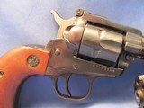 1975 PRE-WARNING RUGER NEW MODEL SINGLE SIX SINGLE ACTION 22LR / 22MAGNUM SIX SHOT CONVERTIBLE REVOLVER - 4 of 19