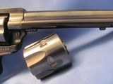 1975 PRE-WARNING RUGER NEW MODEL SINGLE SIX SINGLE ACTION 22LR / 22MAGNUM SIX SHOT CONVERTIBLE REVOLVER - 3 of 19