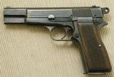 """WW2 Browning Nazi Hi-Power Pistol, Mid-War """"a"""" Block"""
