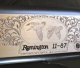 Remington 11/87 CUSTOM ENGRAVED Sporting Clays 12ga - 6 of 9
