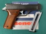 BENELLI B76 PISTOL 9mm PARA GORGEOUS & SCARCE !