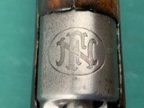 FN FABRIQUE NATIONALE MAUSER CHINESE contract FN LOGO CREST M1924 with Communist Arsenal marking, RARE featured in FN Mauser rifles by A Vanderlinden!