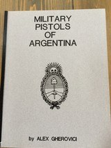 ARGENTINE BALLESTER MOLINA .22 NOT a conversion FABULOUS MATCHING NUMBERS no Import marked - 15 of 15