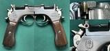 ARGENTINE STEYR MANNLICHER 1905 PISTOL INTACT CREST MATCH No Import HOSTER AMMO & CLIP ALL EXCELLENT - 5 of 15