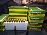 Remington 22-250 Ammo 55 grain Hollow Point Power Lokt 10 boxes of 20 rds, 200 total rounds