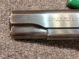 Colt 1911 A1Commercial 1931Near perfect - 3 of 12