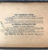 colt automatic pistol Colt;s Patent Fire Arms Manufacturing - 7 of 13