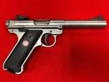 Ruger Mark IV Target 22LR - 1 of 4