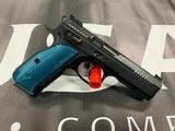 CZ Shadow 2 Black & Blue 9mm