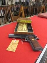 Colt National Match 38 Automatic Pistol