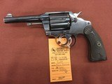 Colt Police Positive, 38 Special.