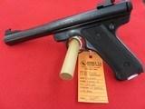 """Ruger Mark I Target """"Black Eagle"""" 22LR"""