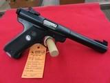 """Ruger Mark I Target """"Black Eagle"""" 22LR - 2 of 2"""