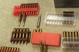 Spam can unopened and several other calibers some brass etc - 7 of 11