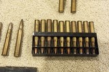 Spam can unopened and several other calibers some brass etc - 5 of 11
