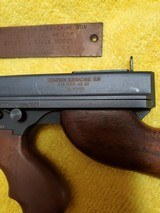 Colt Thompson Submachine gun .45 ACP Model 1921 1/2 scale model - 4 of 12