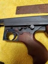 Colt Thompson Submachine gun .45 ACP Model 1921 1/2 scale model - 3 of 12