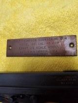 Colt Thompson Submachine gun .45 ACP Model 1921 1/2 scale model - 2 of 12