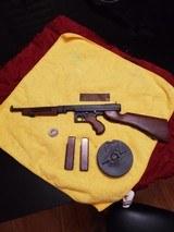 Colt Thompson Submachine gun .45 ACP Model 1921 1/2 scale model - 1 of 12