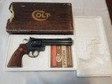 Colt Python .357 Magnum 6in Barrel Blued Finish
