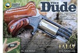 "'TALO' EXCLUSIVE North American Arms Pug ""The Dude"" 22 MAGNUM REVOLVER"