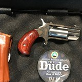 "'TALO' EXCLUSIVE North American Arms Pug ""The Dude"" 22 MAGNUM REVOLVER - 5 of 8"