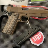 LIPSEY'S EXCLUSIVE ROCK ISLAND ARMORY'ROCK ULTRA 10mm PISTOL' FDE - 10 of 11