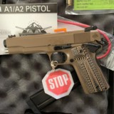 LIPSEY'S EXCLUSIVE ROCK ISLAND ARMORY'ROCK ULTRA 10mm PISTOL' FDE - 3 of 11