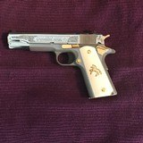colt 1911 style 45acp lew horton special edition #one of a kind collector pistol#