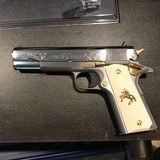 COLT 1911 STYLE 45ACP LEW HORTON SPECIAL EDITION #ONE OF A KIND COLLECTOR PISTOL# - 5 of 15