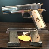 COLT 1911 STYLE 45ACP LEW HORTON SPECIAL EDITION #ONE OF A KIND COLLECTOR PISTOL# - 14 of 15