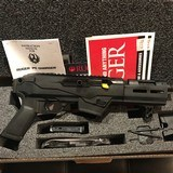 RUGER PC CHARGER TD 9mm SEMI-AUTO PISTOL STATE COMPLIANT - 1 of 10