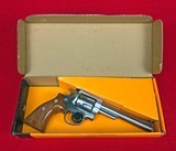 Stainless Ruger Security Six 357 magnum Made 1982 w/ factory box and original Big Grip