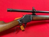 Winchester Model 1885 25-35 WCF w/A5 scope and Colvert research letter - 3 of 13