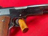 Colt Commercial Ace 22LR made 1935 - 4 of 8