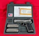 Ruger P89 9mm w/ holster and extra magsRuger P89