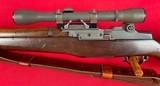 U.S. M1-C Garand sniper rifle made in 1943 w/ Lake City Match 30-06 ammunition - 12 of 15