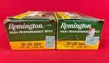32-20 Winchester ammunition 100rds