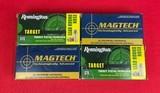 32 S&W ammunition x 4 boxes