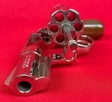 Colt Cobra Nickel Finish 2nd Issue 38 sp w/ extra Colt factory grips - 5 of 8
