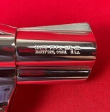 Colt Cobra Nickel Finish 2nd Issue 38 sp w/ extra Colt factory grips - 3 of 8