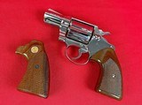 Colt Cobra Nickel Finish 2nd Issue 38 sp w/ extra Colt factory grips - 7 of 8