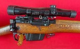 L42A1 7.62mm Enfield Sniper Rifle w/ military transit chest and all accessories - 10 of 15