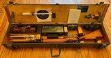 L42A1 7.62mm Enfield Sniper Rifle w/ military transit chest and all accessories
