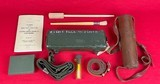 L42A1 7.62mm Enfield Sniper Rifle w/ military transit chest and all accessories - 3 of 15