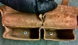 WWII WW2 German G/K43 Magazine Pouch - ros - 1944 - Brown Leather - 5 of 7