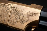 Navy Arms A. Uberti 1860 Henry, Engraved by FEGA Master Lee Griffiths - 11 of 25