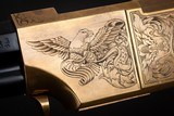 Navy Arms A. Uberti 1860 Henry, Engraved by FEGA Master Lee Griffiths - 9 of 25