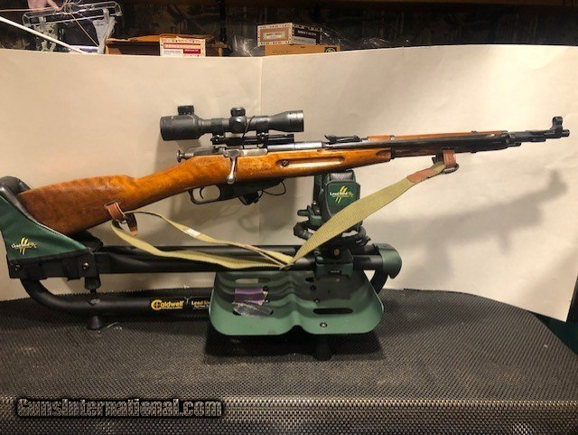 MOSIN NAGANT 7 62X54R WITH BAYONET,DATED 1954 for sale
