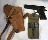 Colt 1911A1 45acp WWII 1943w/shoulder rig two mags - 1 of 15
